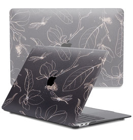 Lunso Lunso - cover hoes - MacBook Air 13 inch (2020) - Dragonfly Black