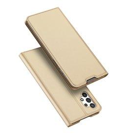 Dux Ducis Dux Ducis - Slim bookcase hoes - Samsung Galaxy A32 4G - Goud