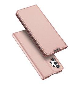 Dux Ducis Dux Ducis - Slim bookcase hoes - Samsung Galaxy A32 4G - Rose Goud