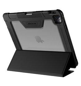 Nillkin Nillkin - Armor Sleepcover Stand hoes - iPad Pro 12.9 inch (2018/2020) - Zwart