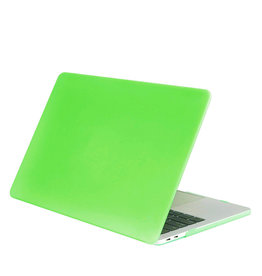 Lunso Lunso - cover hoes - MacBook Air 13 inch (2010-2017) - Mat Fluor Groen