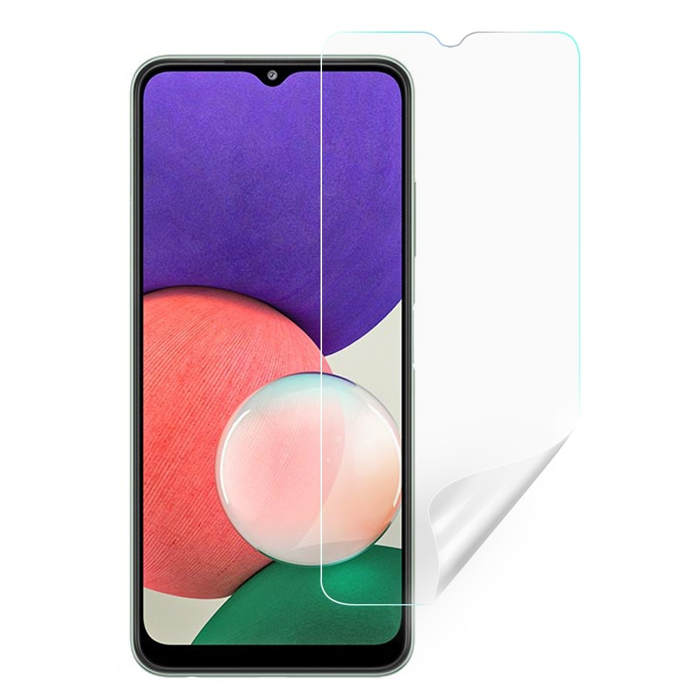 Lunso Samsung Galaxy A22 4G (2 stuks) beschermfolie/screenprotectors