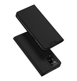 Dux Ducis Dux Ducis - Slim bookcase hoes - Samsung Galaxy A22 4G - Zwart