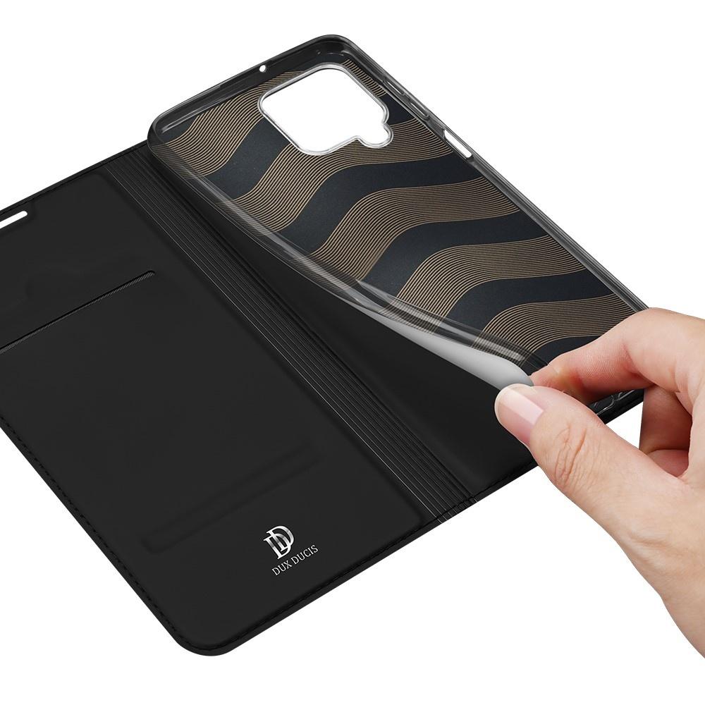 Dux Ducis Samsung Galaxy A22 4G Slim Bookcase hoes Zwart