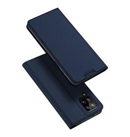 Dux Ducis Dux Ducis - Slim bookcase hoes - Samsung Galaxy A22 4G - Blauw