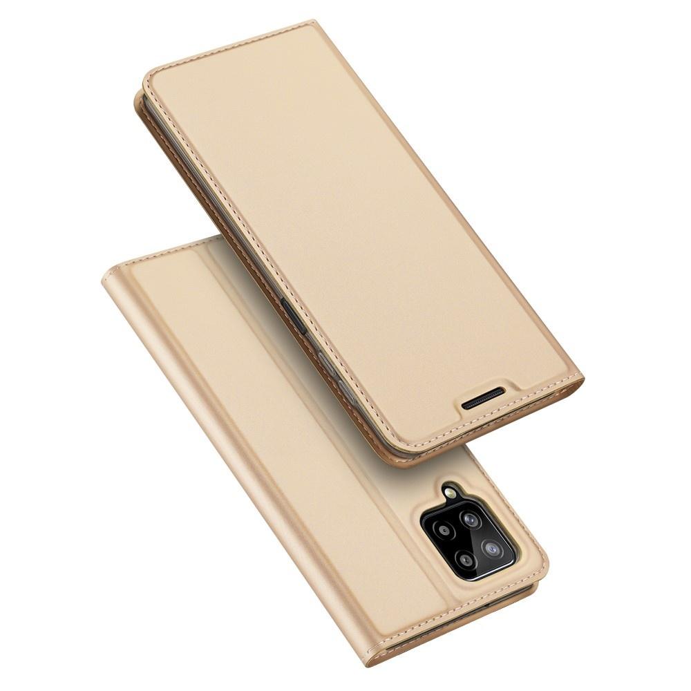 Dux Ducis Samsung Galaxy A22 4G Slim Bookcase hoes Goud