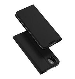 Dux Ducis Dux Ducis - Slim bookcase hoes - Samsung Galaxy A22 5G - Zwart