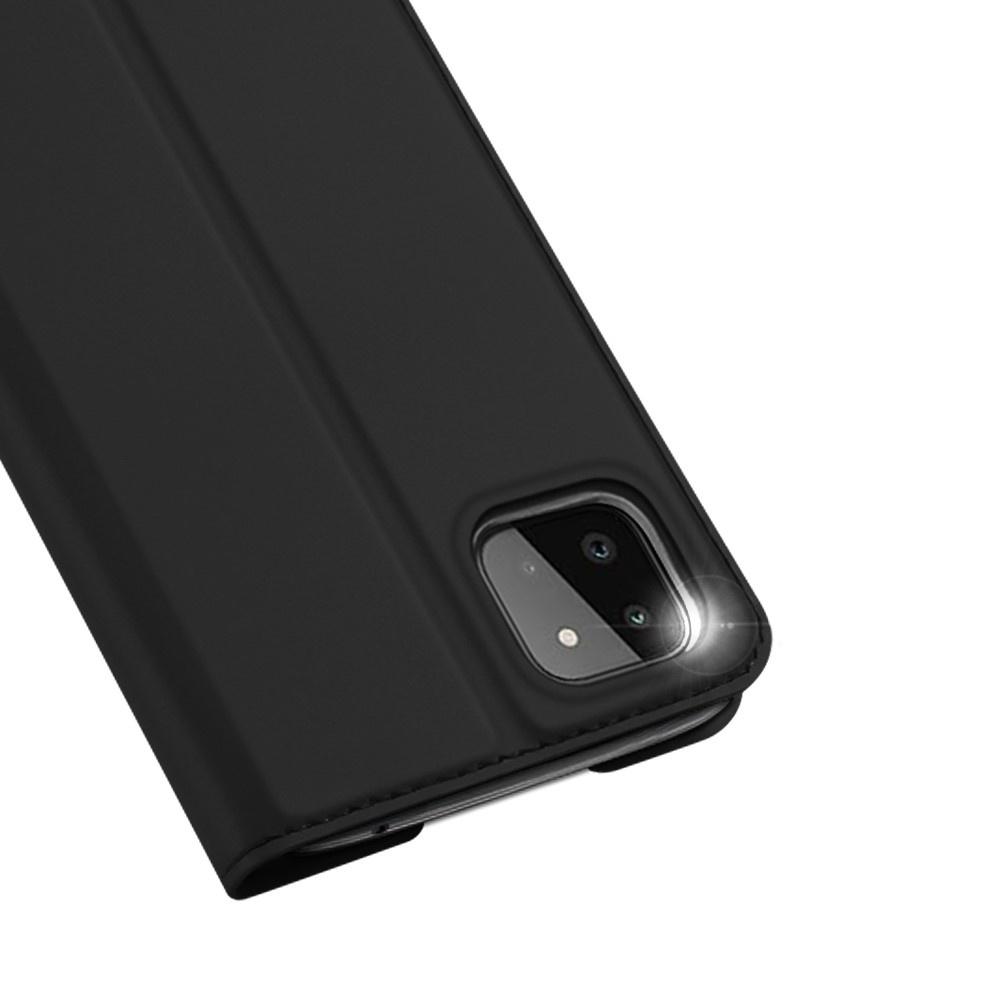 Dux Ducis Samsung Galaxy A22 5G Slim Bookcase hoes Zwart