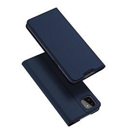 Dux Ducis Dux Ducis - Slim bookcase hoes - Samsung Galaxy A22 5G - Blauw