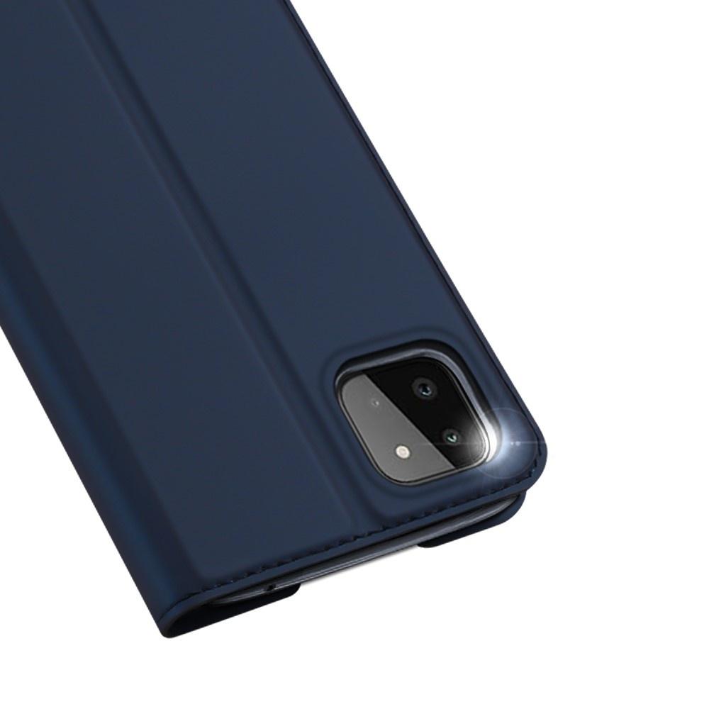Dux Ducis Samsung Galaxy A22 5G Slim Bookcase hoes Blauw