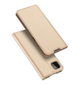 Dux Ducis Dux Ducis - Slim bookcase hoes - Samsung Galaxy A22 5G - Goud