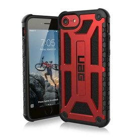 Urban Armor Gear UAG - Monarch backcover hoes - iPhone 7 / iPhone 8 / iPhone SE (2020) - Rood
