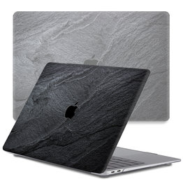 Lunso Lunso - cover hoes - MacBook Pro 13 inch (2016-2019) - Black Stone