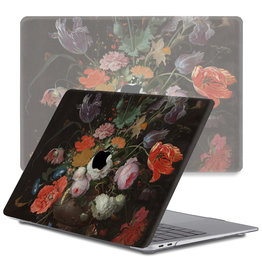 Lunso Lunso - cover hoes - MacBook Pro 13 inch (2016-2019) - Stilleven met Bloemen