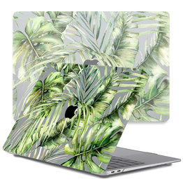 Lunso Lunso - cover hoes - MacBook Air 13 inch (2018-2019) - Green Jungle