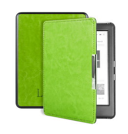 Lunso Lunso - sleepcover hoes - Kobo Glo / Glo HD / Touch 2.0 (6 inch) - Groen