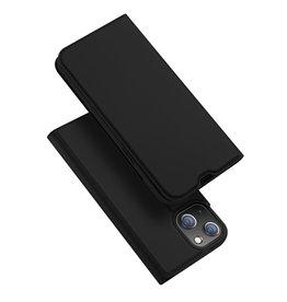 Dux Ducis Dux Ducis - Slim bookcase hoes - iPhone 13 Mini - Zwart