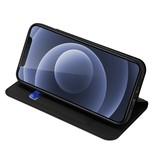 Dux Ducis iPhone 13 Mini Slim Bookcase hoes Zwart