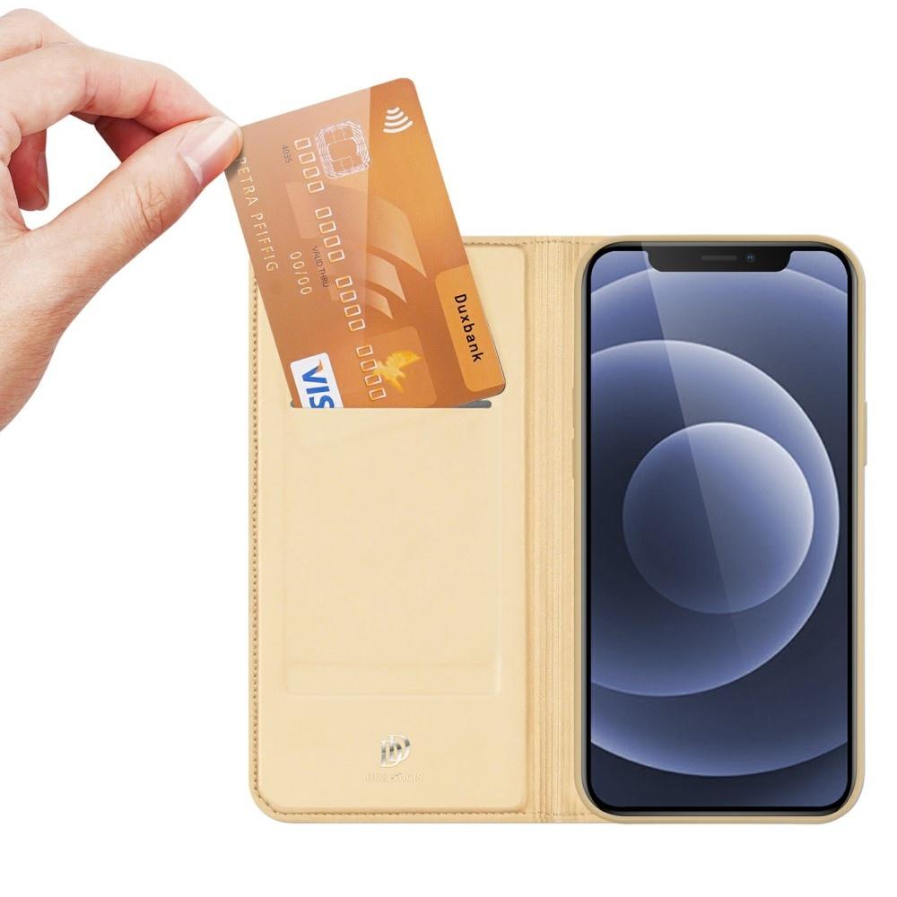 Dux Ducis iPhone 13 Mini Slim Bookcase hoes Goud