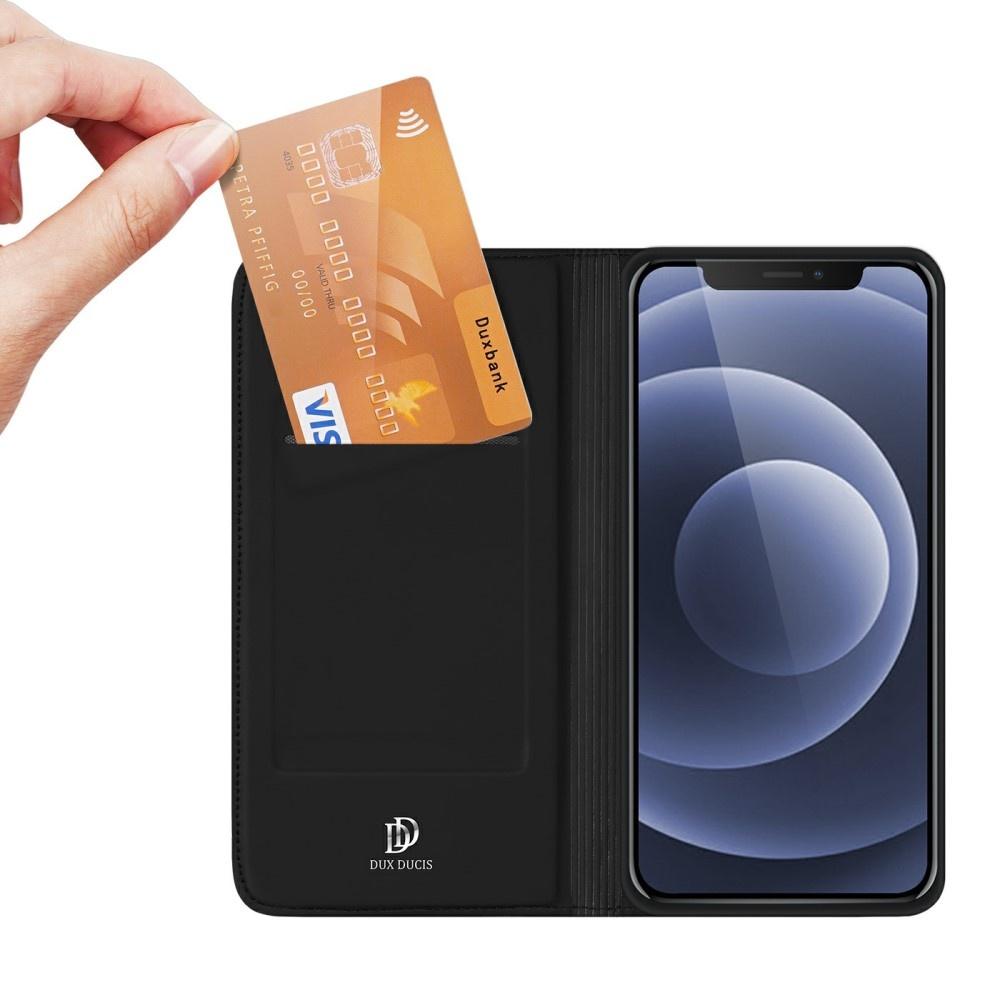 Dux Ducis iPhone 13 Slim Bookcase hoes Zwart