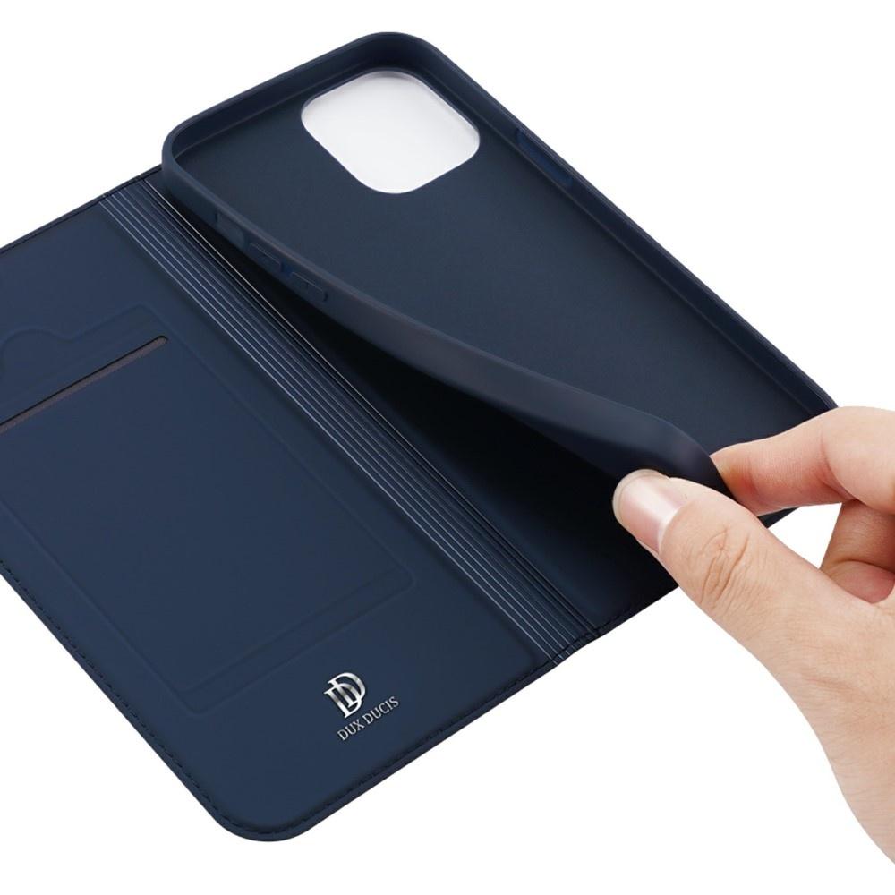 Dux Ducis iPhone 13 Slim Bookcase hoes Blauw