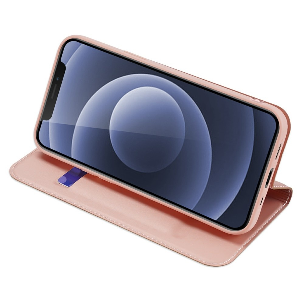 Dux Ducis iPhone 13 Slim Bookcase hoes Rose Goud
