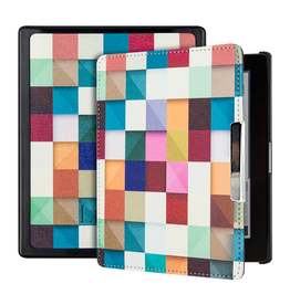 Lunso Lunso - sleepcover hoes - Kobo Aura edition 1 (6 inch) - Blokken