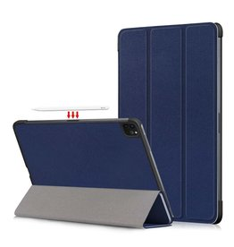 Lunso 3-Vouw sleepcover hoes - iPad Pro 11 inch (2018/2020/2021) - Blauw