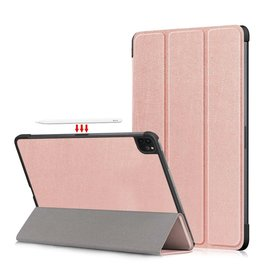 Lunso 3-Vouw sleepcover hoes - iPad Pro 11 inch (2018/2020/2021) - Rose Goud