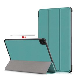 Lunso 3-Vouw sleepcover hoes - iPad Pro 11 inch (2018/2020/2021) - Groen