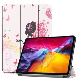 Lunso 3-Vouw sleepcover hoes - iPad Pro 11 inch (2018/2020/2021) - Fee