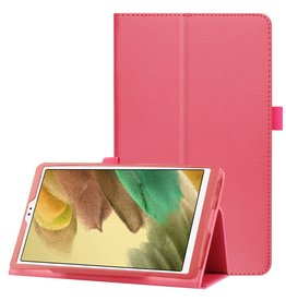Lunso Lunso - Stand flip sleepcover hoes - Samsung Galaxy Tab A7 Lite - Roze