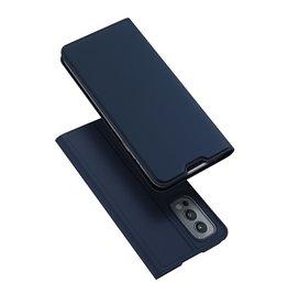 Dux Ducis Dux Ducis - Pro Serie Slim wallet hoes - OnePlus Nord 2 - Blauw