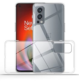 Lunso OnePlus Nord 2 - Lunso - Softcase hoes -  Transparant