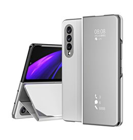 Lunso Lunso - Window view cover hoes - Samsung Galaxy Z Fold3 - Zilver