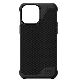 Urban Armor Gear UAG - Metropolis backcover hoes - iPhone 13 Pro Max - Zwart + Lunso Tempered Glass