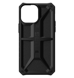 Urban Armor Gear UAG - Monarch backcover hoes - iPhone 13 Pro - Zwart + Lunso Tempered Glass