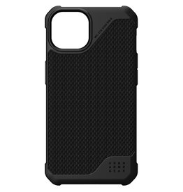 Urban Armor Gear UAG - Metropolis backcover hoes - iPhone 13 - Zwart + Lunso Tempered Glass