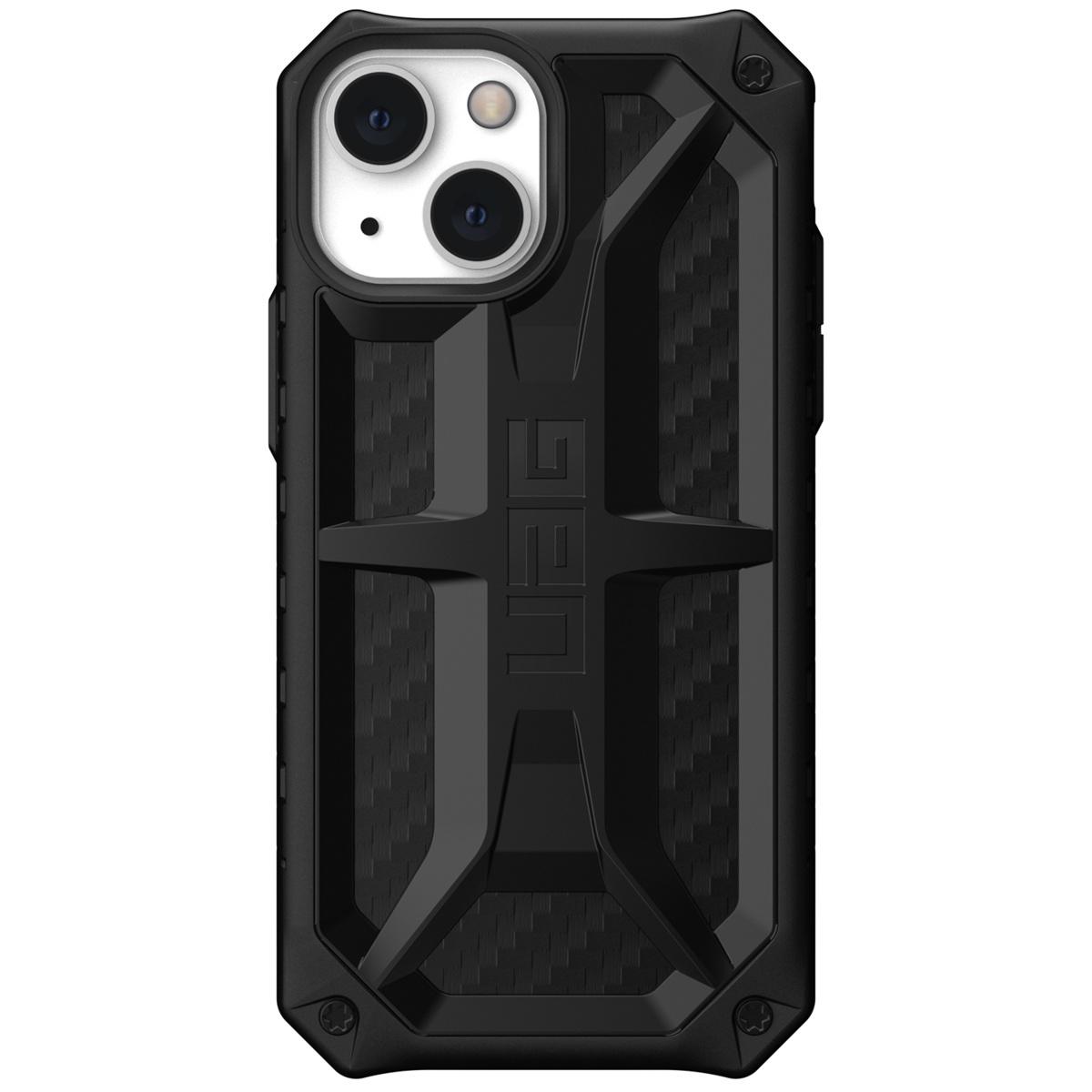 Urban Armor Gear iPhone 13 Mini Monarch backcover hoes Carbon Zwart