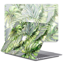Lunso Lunso - cover hoes - MacBook Air 13 inch (2010-2017) - Green Jungle
