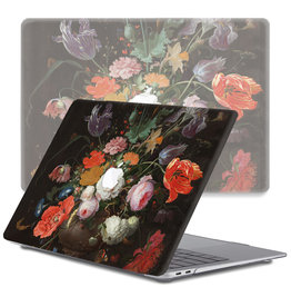 Lunso Lunso - cover hoes - MacBook Air 13 inch (2010-2017) - Stilleven Met Bloemen