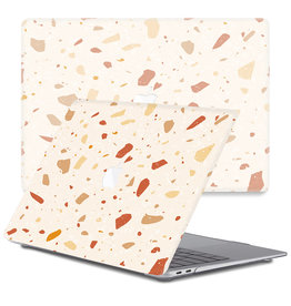 Lunso Lunso - cover hoes - MacBook Air 13 inch (2010-2017) - Terazzo