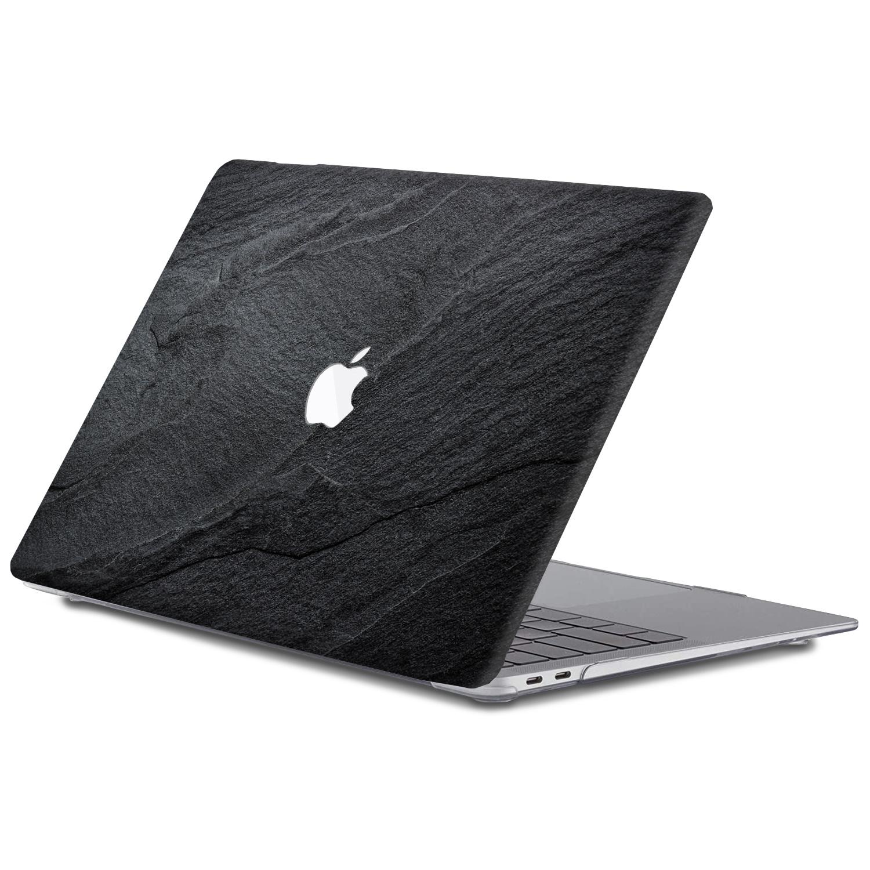 Lunso MacBook Air 13 inch (2010-2017) cover beschermhoes Black Stone