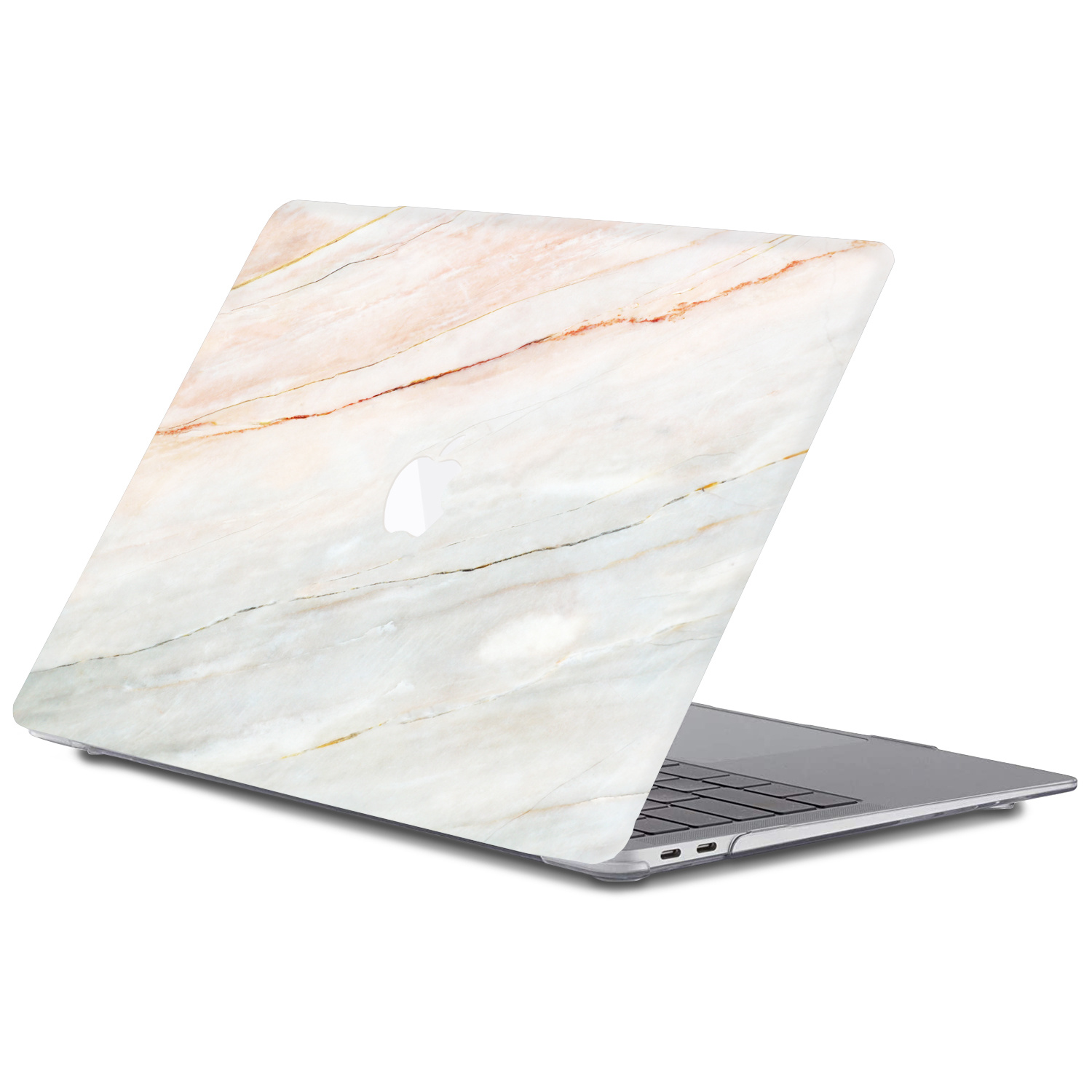 Lunso MacBook Air 13 inch (2010-2017) cover beschermhoes Marble Aiden
