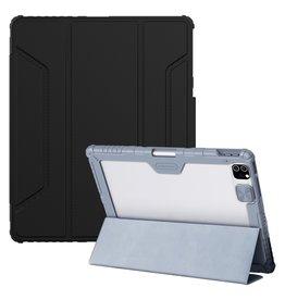 Nillkin Nillkin - Armor Sleepcover Stand hoes - iPad Pro 12.9 inch (2021) - Zwart