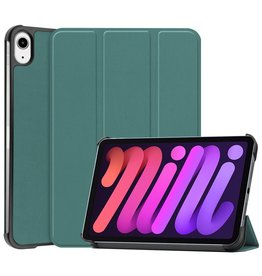 Lunso 3-Vouw sleepcover hoes - iPad Mini 6 (2021) - Groen