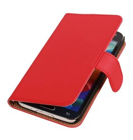 Bookwallet hoes Samsung Galaxy S5 rood