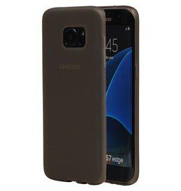 Softcase hoes Samsung Galaxy S7 Edge grijs