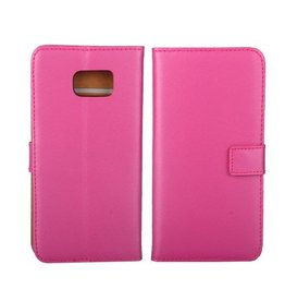 Bookwallet hoes Samsung Galaxy S6 Edge Plus roze