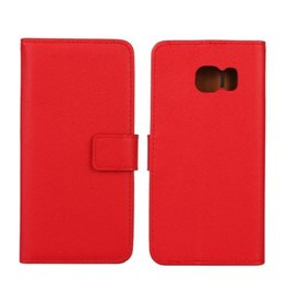 Bookwallet hoes Samsung Galaxy S6 Edge rood